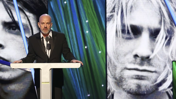 Michael Stipe Inducts Nirvana Into Rock and Roll Hall of Fame