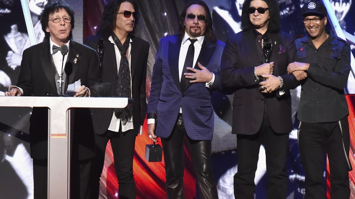 Read Kiss' Rock and Roll Hall of Fame Acceptance Speech