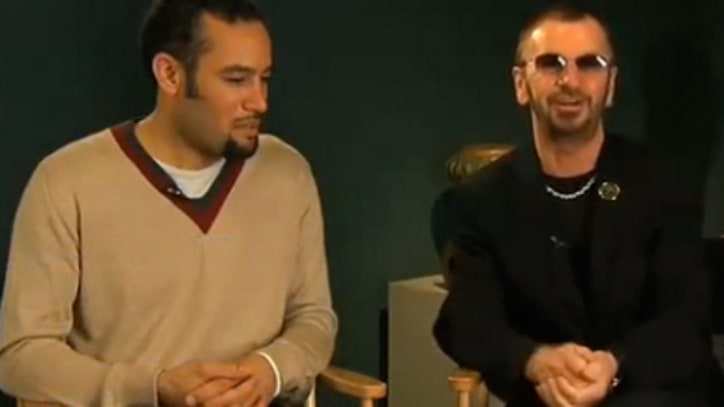 Ringo Starr Performs with Ben Harper: