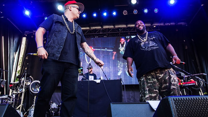 Run the Jewels in the Studio with Zack de la Rocha, Travis Barker