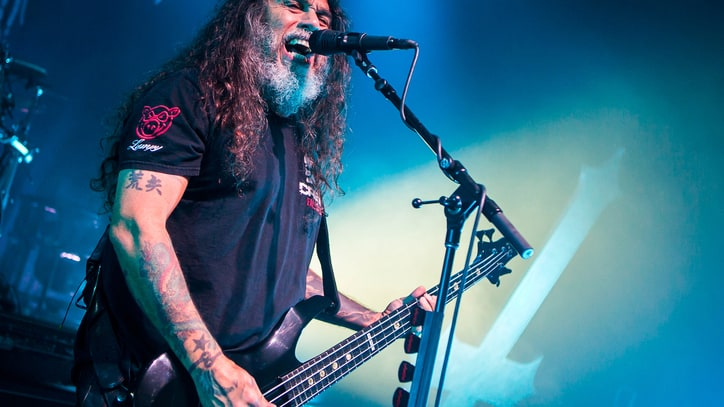 Slayer Debut New Song 'Implode' During Surprise Golden Gods Appearance