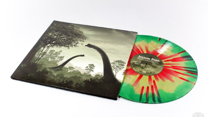 'Jurassic Park' Soundtrack Coming on Dino-Colored Vinyl