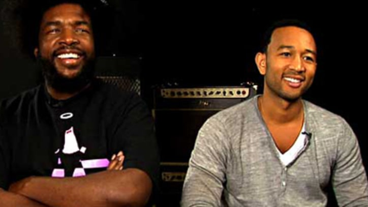 Exclusive: John Legend and the Roots