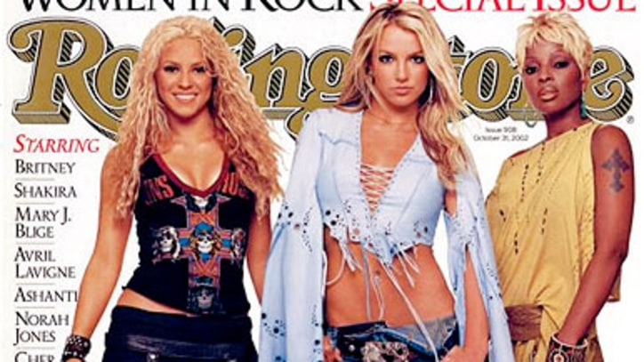 Britney Spears Pleases Herself: Rolling Stone's 2002 Cover Story