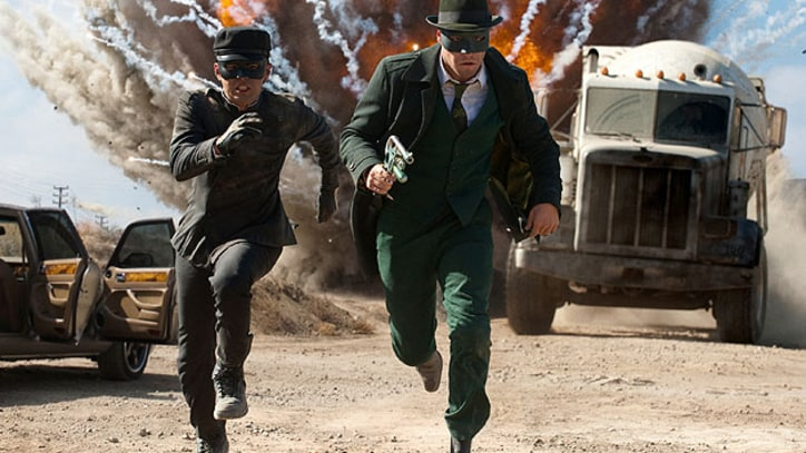 'Green Hornet' The comic book movie is not half bad - not half good