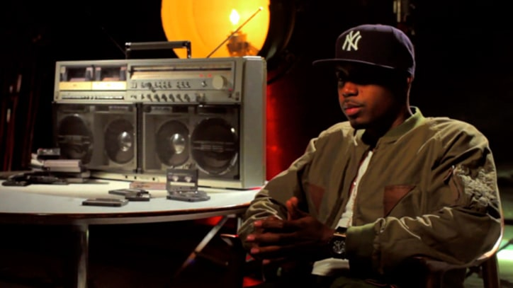 Exclusive Video: Nas Shares His Passion For Hip-Hop Cassettes