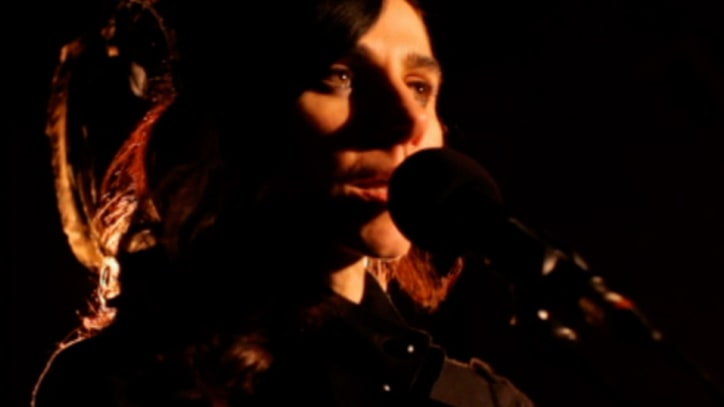 Exclusive Video: PJ Harvey's 'Hanging in the Wire'