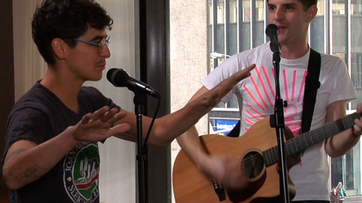 MEN MEN Perform Rare Acoustic Session, R. Kelly Cover