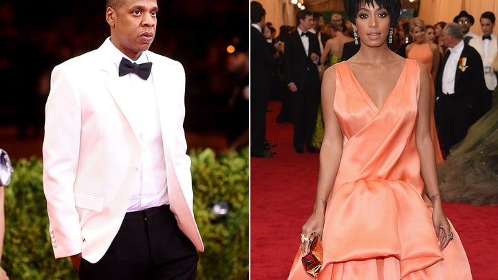 Jay Z Allegedly Attacked by Solange After Met Gala