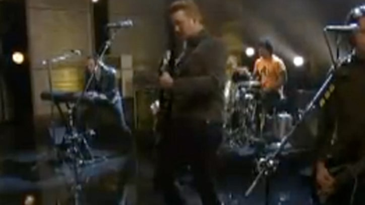 Queens of the Stone Age Watch 'If Only' live on 'Conan'