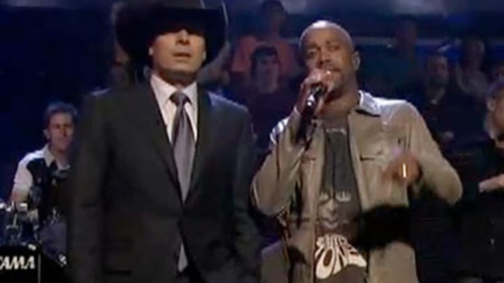Darius Rucker and Jimmy Fallon The duo sings 'I Don't Care' from Rucker's new LP