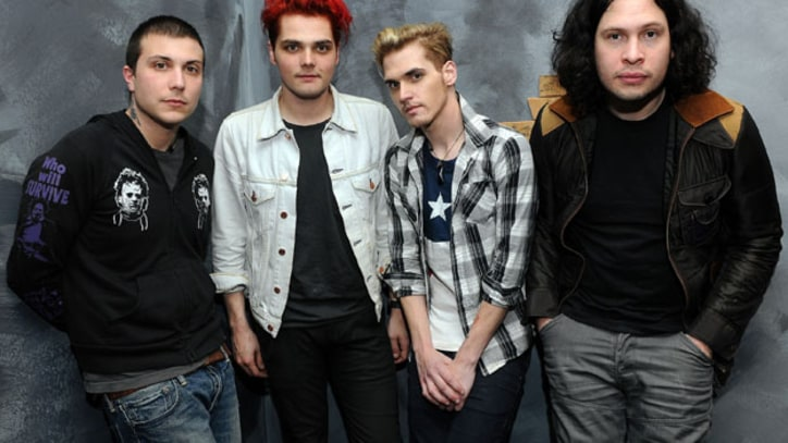 My Chemical Romance 'Our new album is a fight'