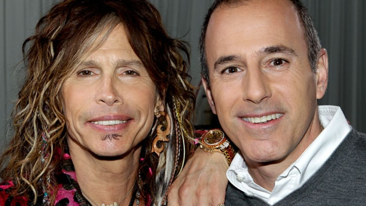 Steven Tyler Opens up to Matt Lauer about addiction