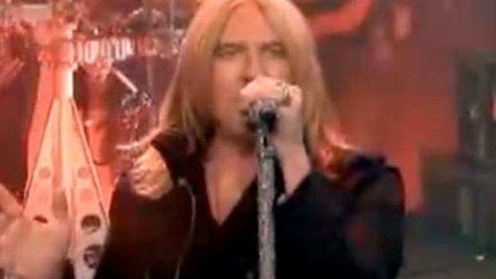 Def Leppard  Play 'Pour Some Sugar on Me' on 'Leno'