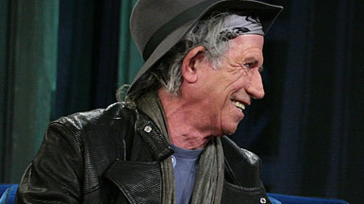Keith Richards Has goofy conversation with Jimmy Fallon