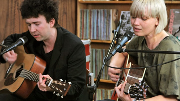 The Raveonettes Danish indie duo play new songs