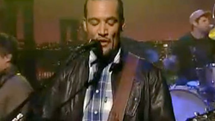 Ben Harper 'Rock N' Roll Is Free' on Letterman