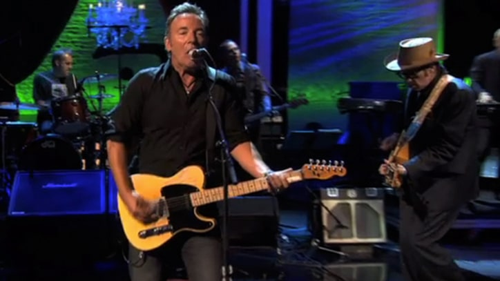 Bruce Springsteen and Elvis Costello Perform 'Seeds' On 'Spectacle'