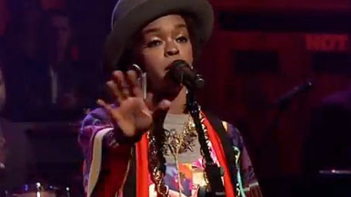 Lauryn Hill Sings high-energy 'Doo Wop' on Fallon