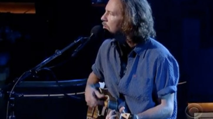 Eddie Vedder 'Without You' on 'Letterman'