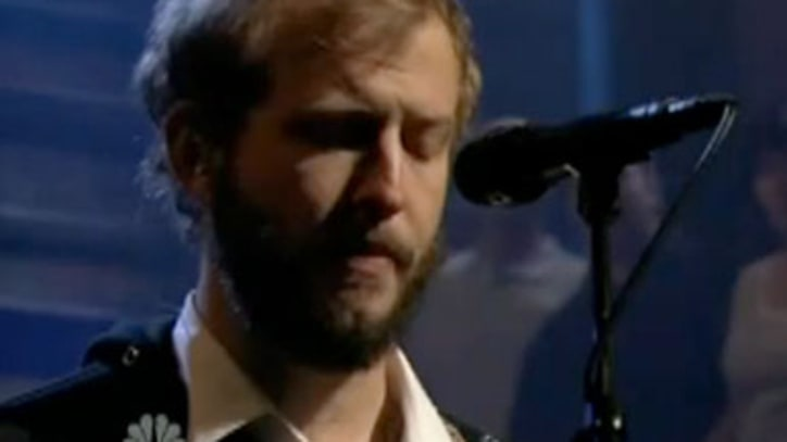 Bon Iver Performs 'Holocene' on 'Fallon'