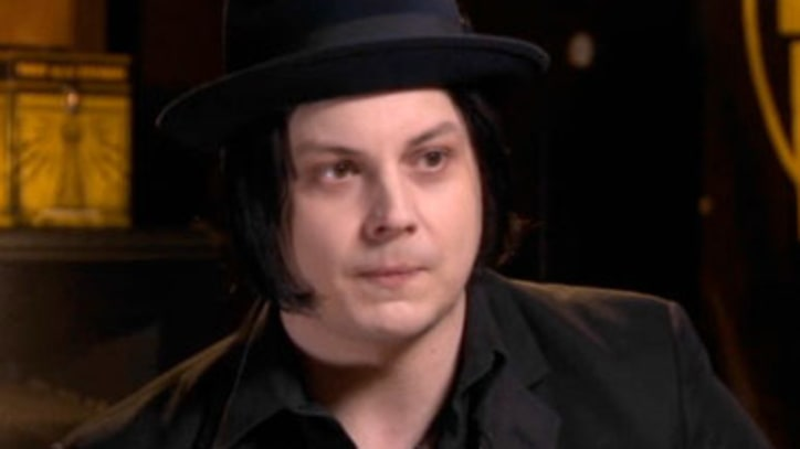 Jack White Sings about yogurt with Stephen Colbert