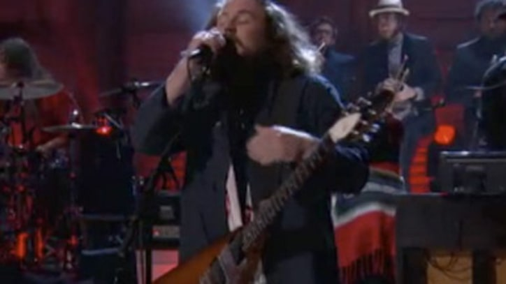 My Morning Jacket 'Holdin' On to Black Metal' on 'Conan'