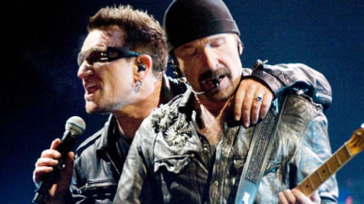 U2 Revisit 'The Fly' at Glastonbury