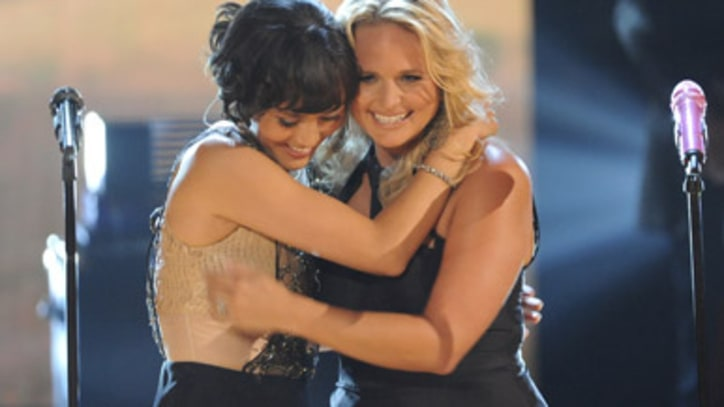 Miranda Lambert and Dia Frampton 'The House That Built Me' on 'The Voice'