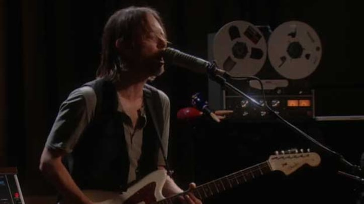 Radiohead Play meditative 'Bloom' on the BBC