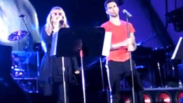 Maroon 5 and Stevie Nicks 'Leather and Lace' at the Hollywood Bowl
