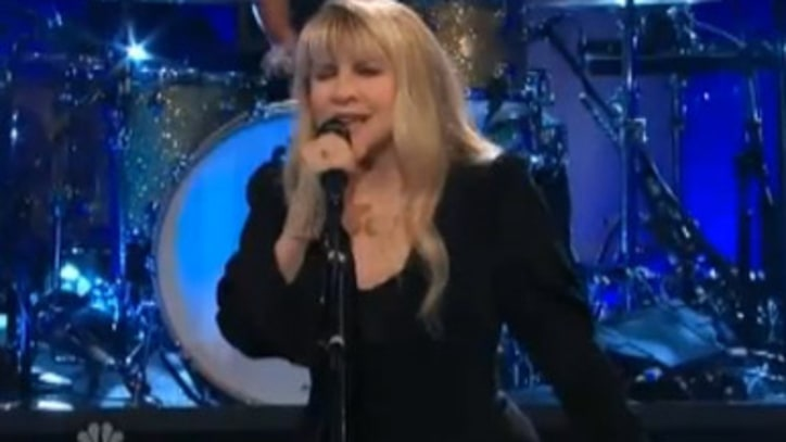 Stevie Nicks 'For What It's Worth' on 'Leno'