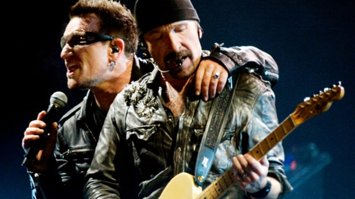 U2 End 360 Tour In Moncton Canada With '40'