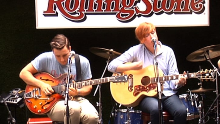 Two Door Cinema Club Perform 'What You Know,' talk touring