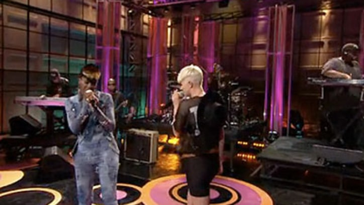 Rye Rye and Robyn 'Never Will Be Mine' on 'Tonight Show'