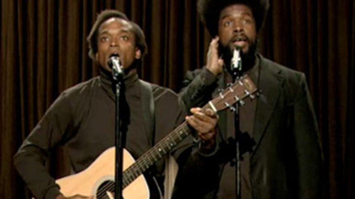 The Roots As 'Black Simon and Garfunkel'