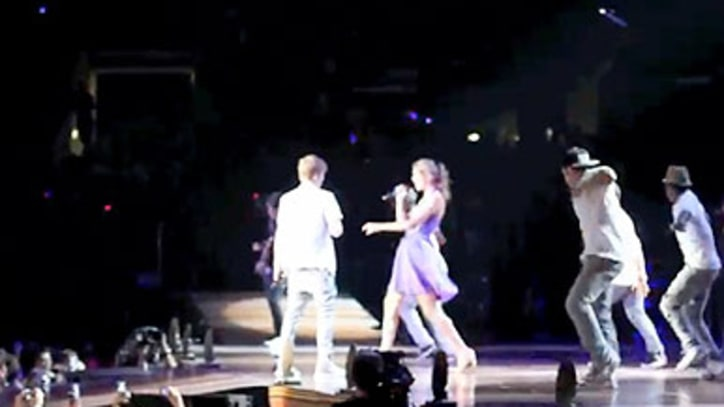 Justin Bieber and Taylor Swift 'Baby' in Los Angeles
