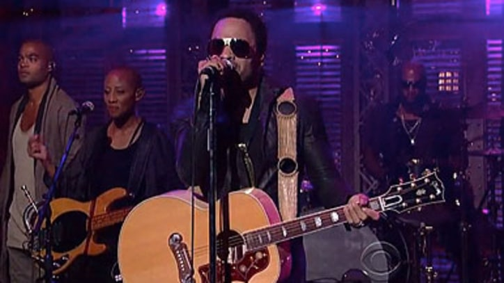 Lenny Kravitz 'Stand' on 'Letterman'