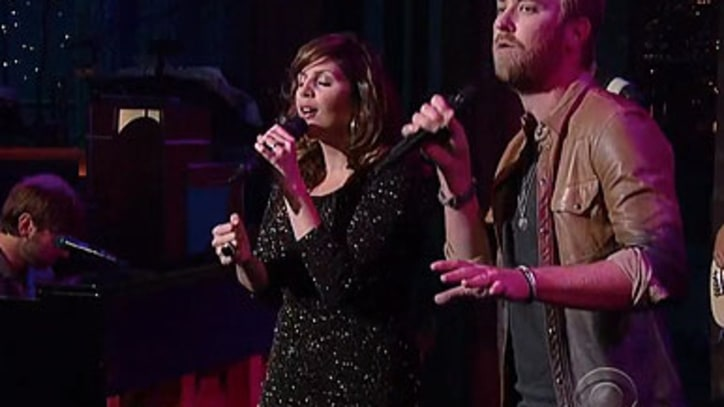 Lady Antebellum 'Just A Kiss' on 'Letterman'