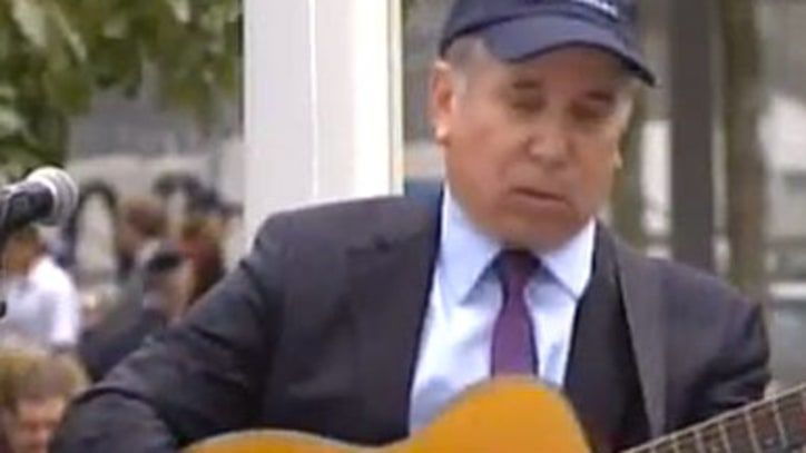 Paul Simon 'The Sound of Silence' at 9/11 Memorial