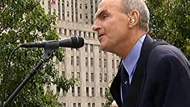 James Taylor 'You Can Close Your Eyes' 9/11 Memorial