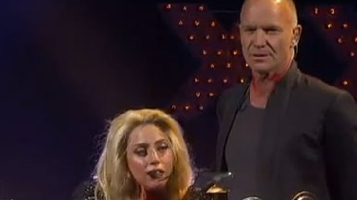 Lady Gaga and Sting 'Stand by Me' at iheartradio Festival
