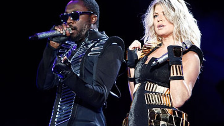 Black Eyed Peas 'Meet Me Halfway' in Central Park