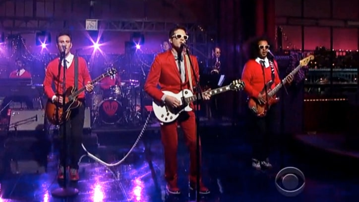 Mayer Hawthorne 'The Walk' on 'Letterman'