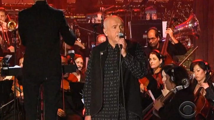 Peter Gabriel 'Red Rain' on 'Letterman'