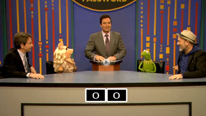 Michael Stipe Plays Password with Muppets on 'Fallon'