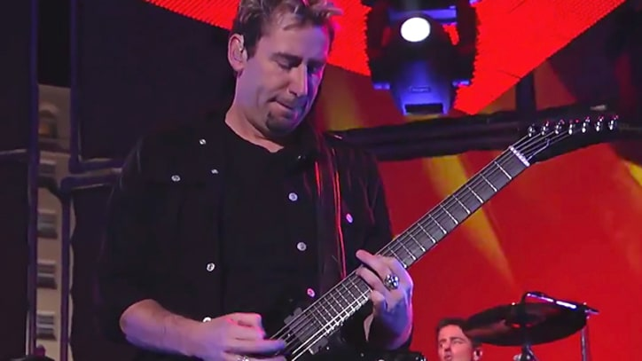 Nickelback 'Burn It to the Ground' on 'Kimmel'
