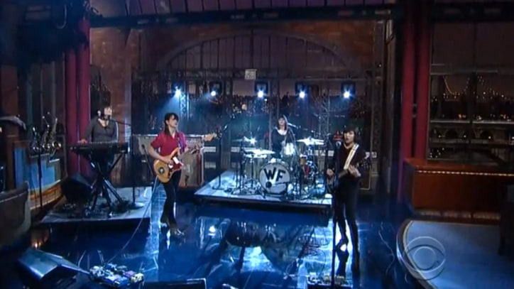 Wild Flag 'Romance' on 'Letterman'