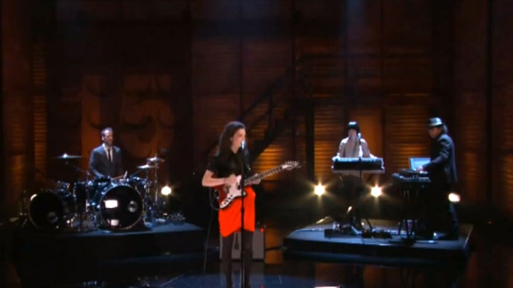 St. Vincent 'Cheerleader' on 'Conan'