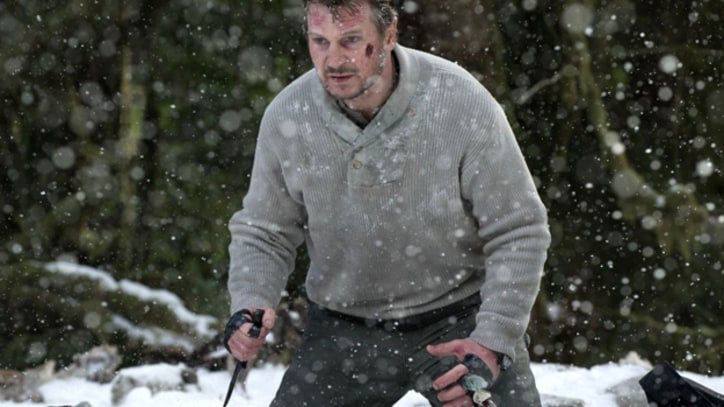 'The Grey' Liam Neeson faces off against wolves